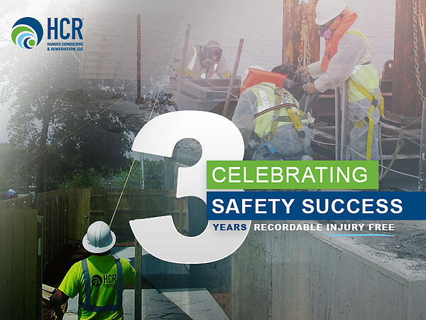 Handex 3 Year Milestone Celebrating Safety Success Image